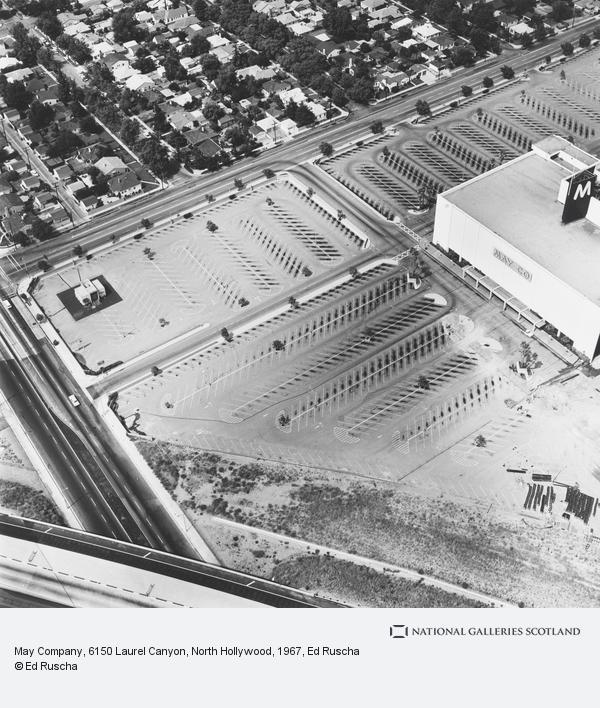 Ed Ruscha, May Company, 6150 Laurel Canyon, North Hollywood