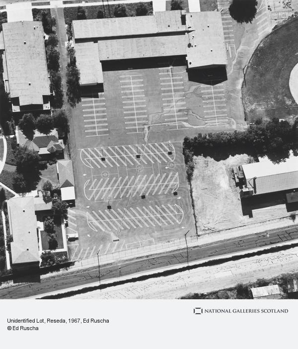 Ed Ruscha, Unidentified Lot, Reseda (1967 / 1999)