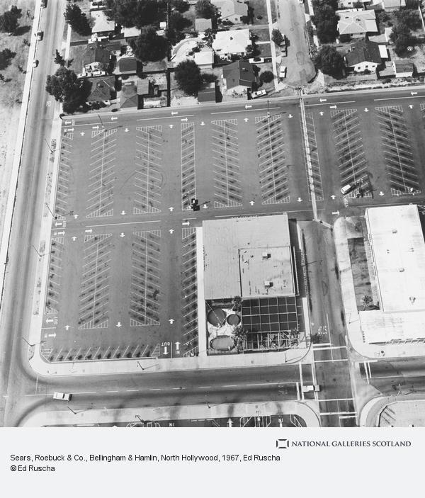 Ed Ruscha, Sears, Roebuck & Co., Bellingham & Hamlin, North Hollywood