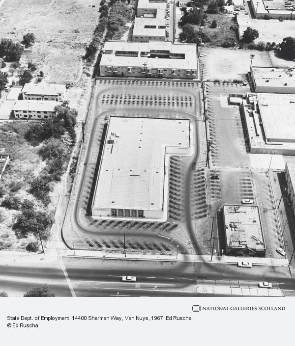 Ed Ruscha, State Dept. of Employment, 14400 Sherman Way, Van Nuys (1967 / 1999)