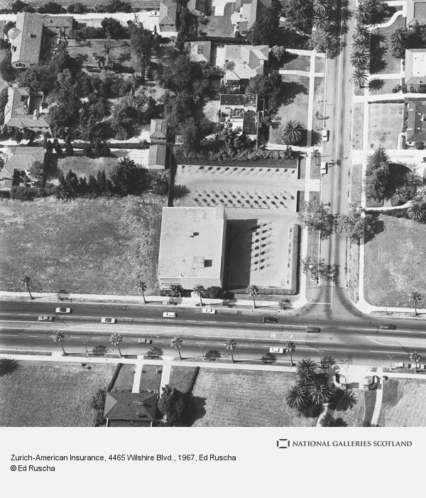 Ed Ruscha, Zurich-American Insurance, 4465 Wilshire Blvd. (1967 / 1999)
