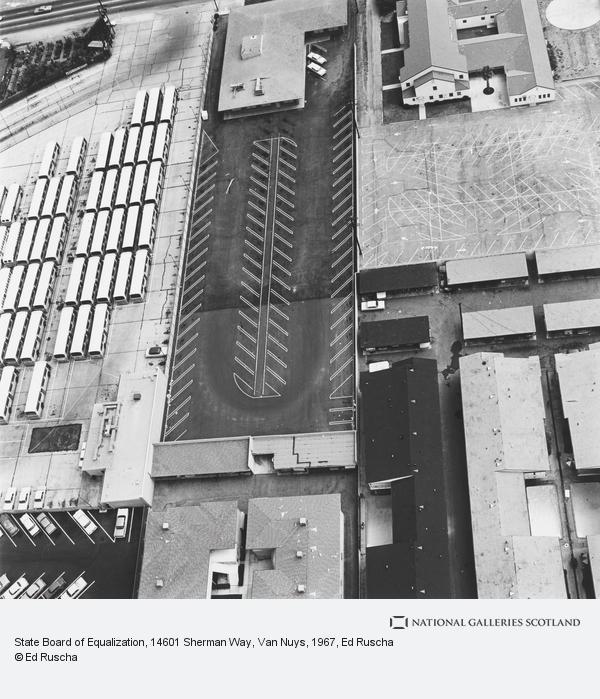 Ed Ruscha, State Board of Equalization, 14601 Sherman Way, Van Nuys (1967 / 1999)