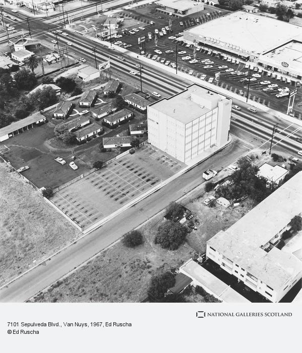 Ed Ruscha, 7101 Sepuveda Blvd., Van Nuys (1967 / 1999)