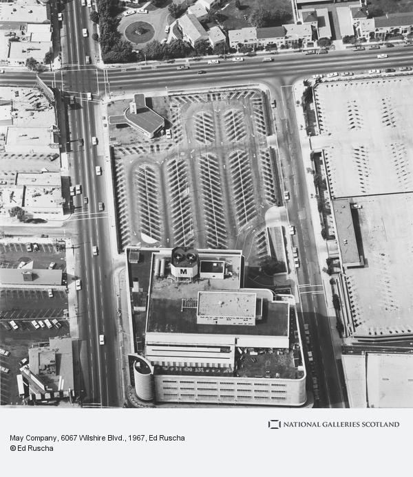 Ed Ruscha, May Company, 6067 Wilshire Blvd.