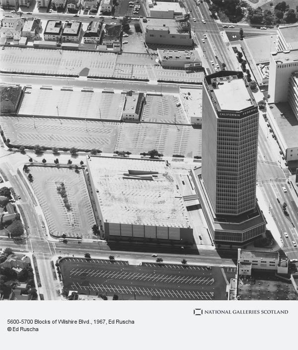 Ed Ruscha, 5600-5700 Blocks of Wilshire Blvd. (1967 / 1999)