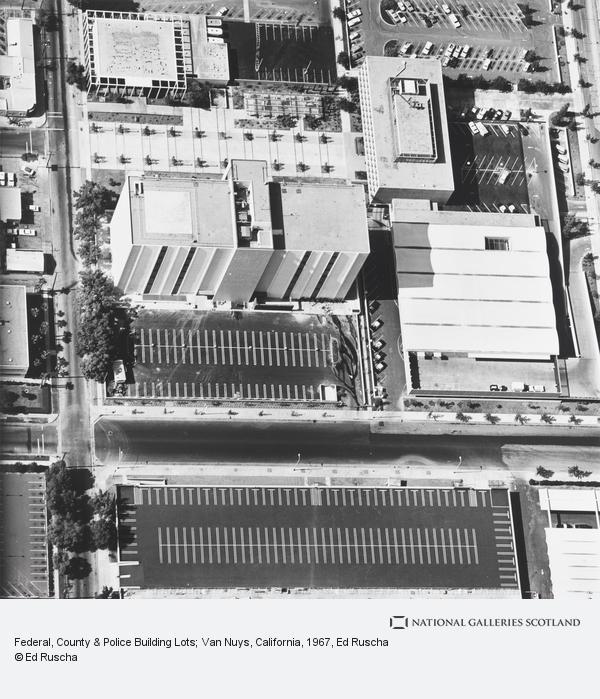Ed Ruscha, Federal, County & Police Building Lots; Van Nuys, California (1967 / 1999)