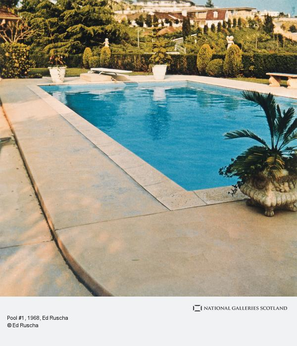 Ed Ruscha, Pool #1 (1968 / 1997)