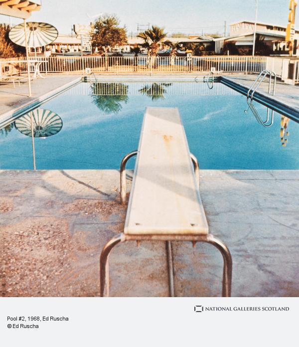 Ed Ruscha, Pool #2 (1968 / 1997)
