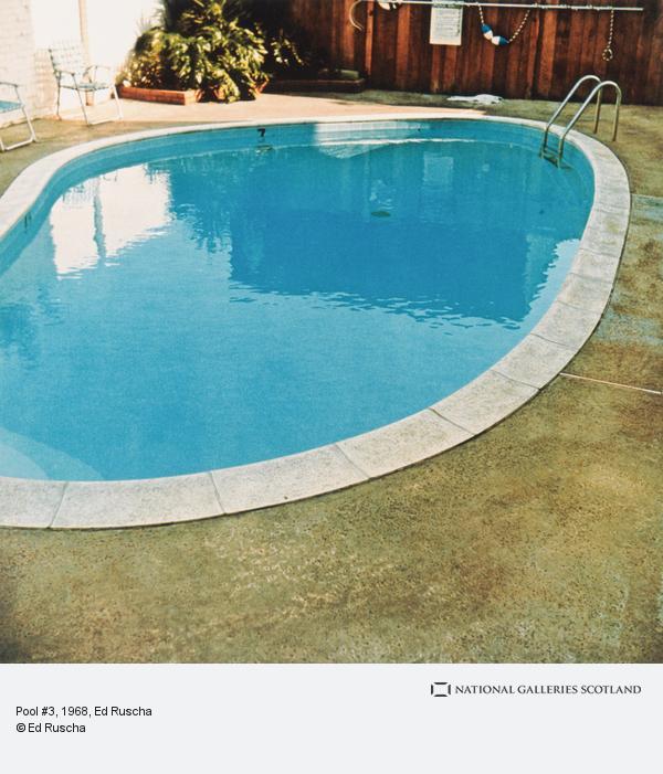 Ed Ruscha, Pool #3 (1968 / 1997)