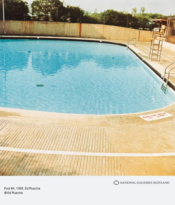 Ed Ruscha, Pool #4 (1968 / 1997)