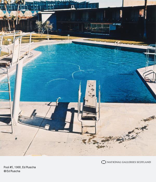 Ed Ruscha, Pool #5 (1968 / 1997)