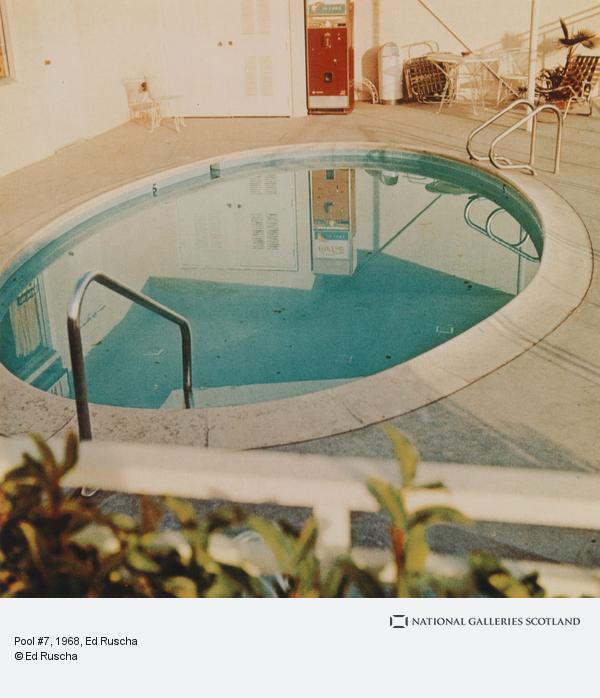 Ed Ruscha, Pool #7 (1968 / 1997)