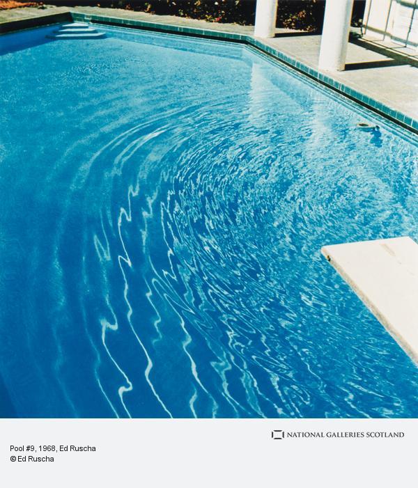 Ed Ruscha, Pool #9 (1968 / 1997)