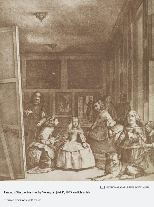 David Octavius Hill, Painting of the Las Meninas by Velasquez [Art 9]