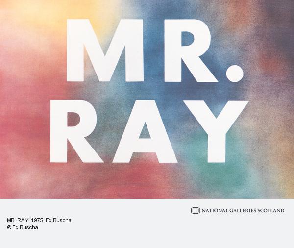 Ed Ruscha, Mr Ray (1975)