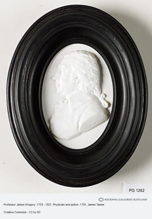 James Tassie, Professor James Gregory, 1753 - 1821. Physician and author