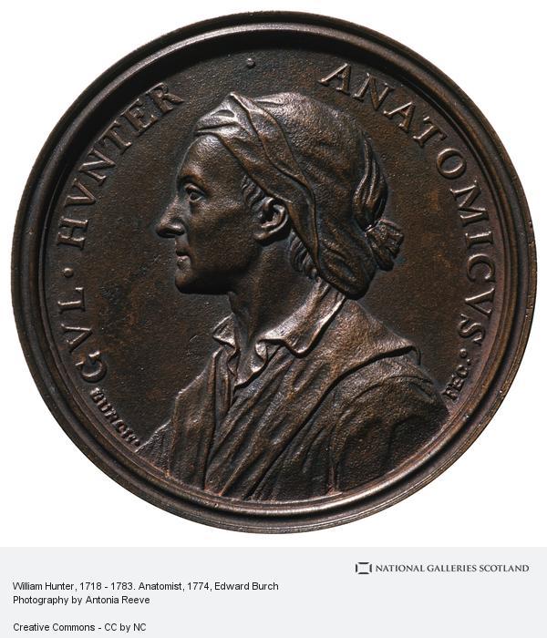 Edward Burch, William Hunter, 1718 - 1783. Anatomist