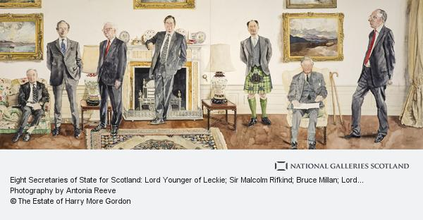 Harry More Gordon, Eight Secretaries of State for Scotland: Lord Younger of Leckie; Sir Malcolm Rifkind; Bruce Millan; Lord Lang of Monkton; Sir Michael Forsyth;... (1999)