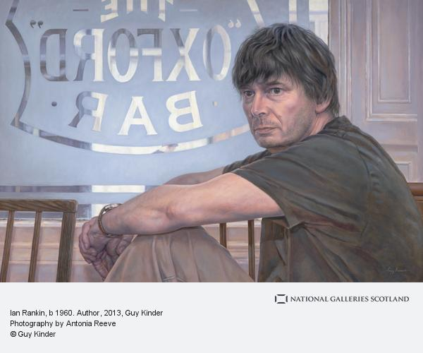 Guy Kinder, Ian Rankin, b 1960. Author