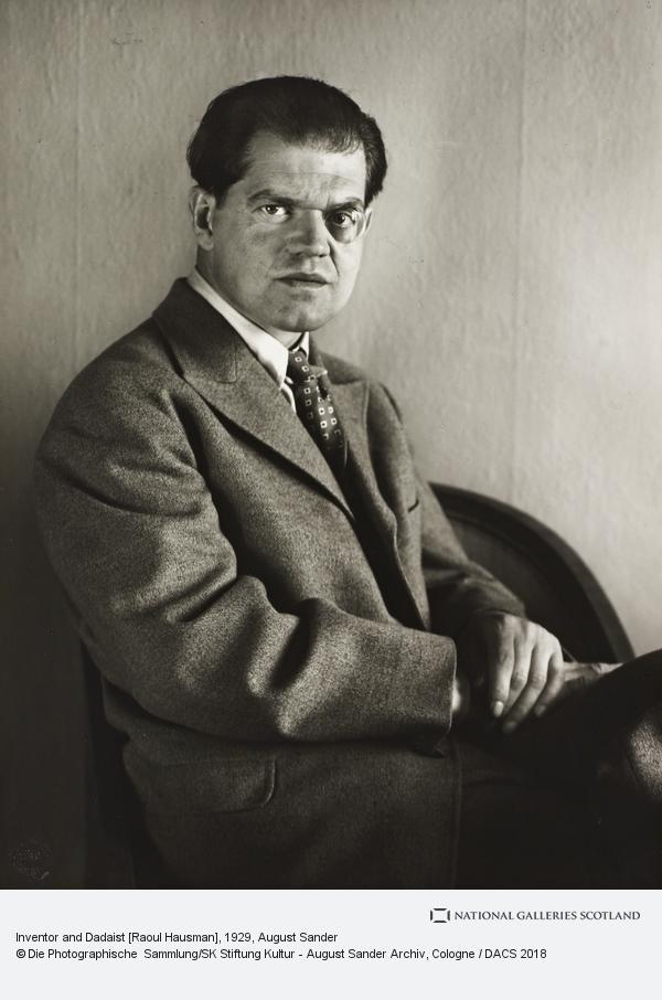 August Sander, Inventor and Dadaist [Raoul Hausman], 1929 (1929)