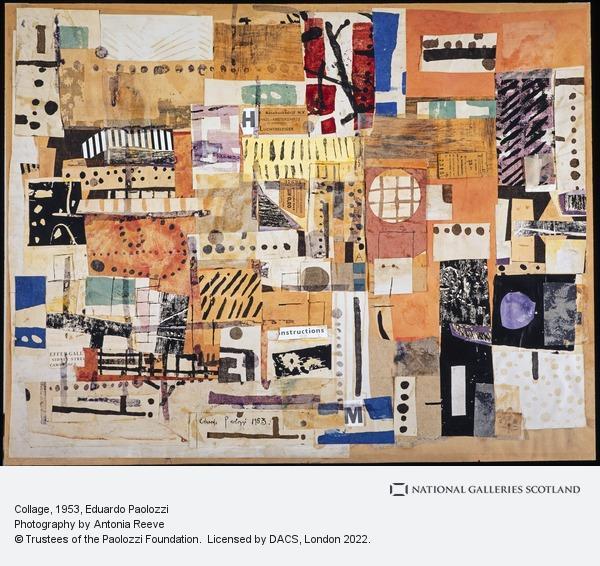 Eduardo Paolozzi, Collage
