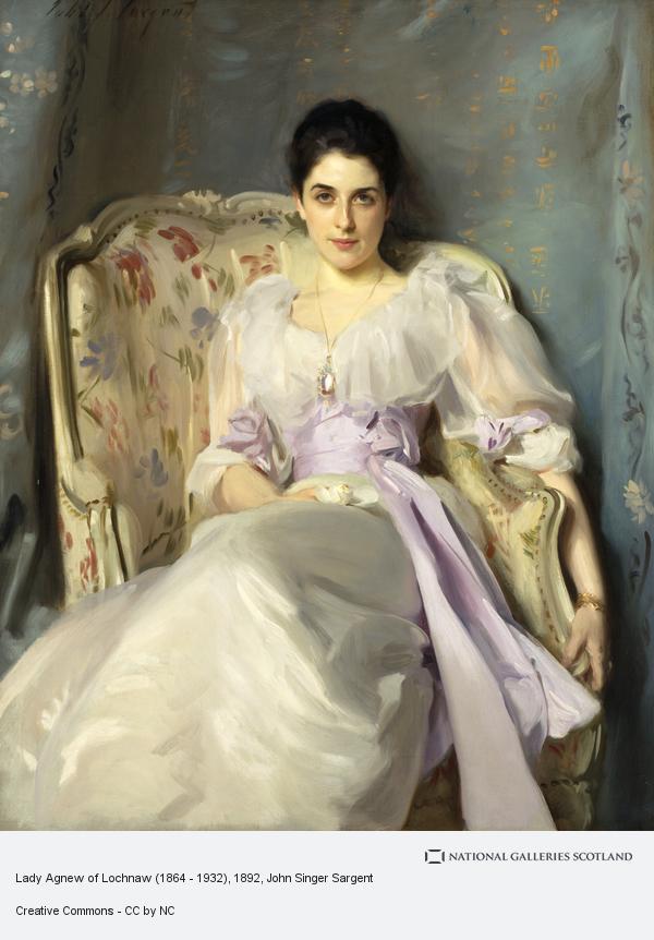 John Singer Sargent, Lady Agnew of Lochnaw (1864 - 1932) (1892)
