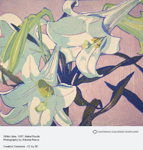 Mabel Royds, White Lilies (exh. 1937)
