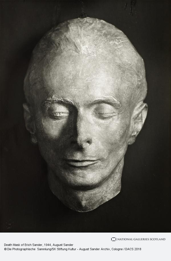 August Sander, Death Mask of Erich Sander, 1944 (1944)