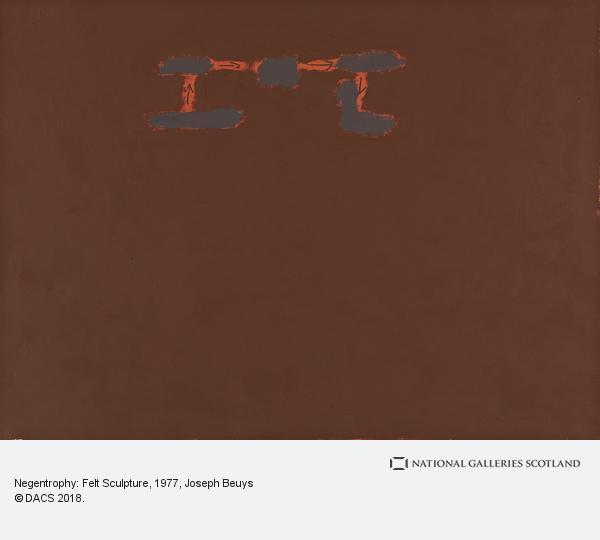 Joseph Beuys, Negentrophy: Felt Sculpture (1977)