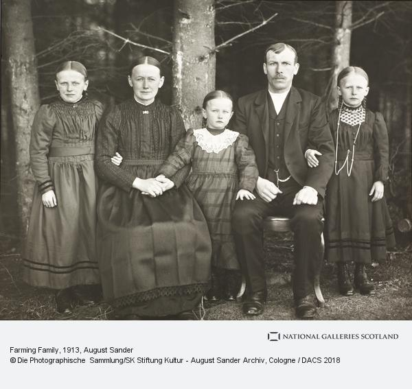 August Sander, Farming Family, 1913 (1913)