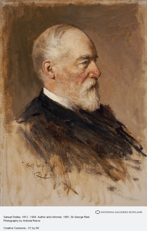 Sir George Reid, Samuel Smiles, 1812 - 1904. Author and reformer (1891)