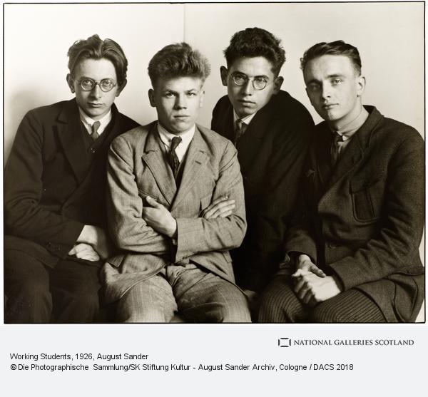 August Sander, Werkstudenten [Working Students], 1926 (1926)
