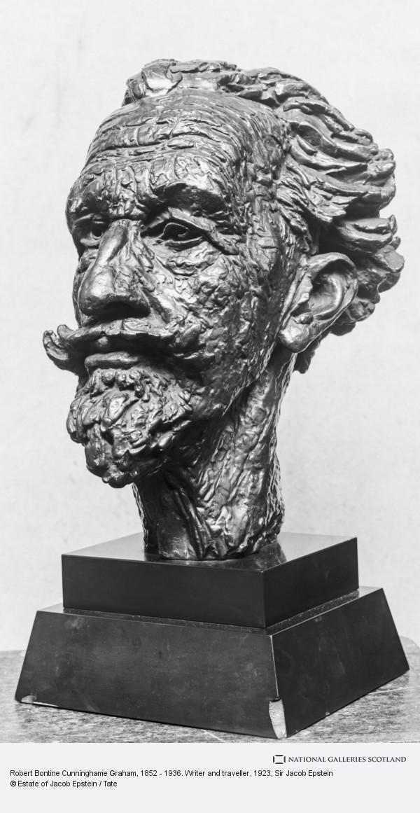Sir Jacob Epstein, Robert Bontine Cunninghame Graham, 1852 - 1936. Writer and traveller
