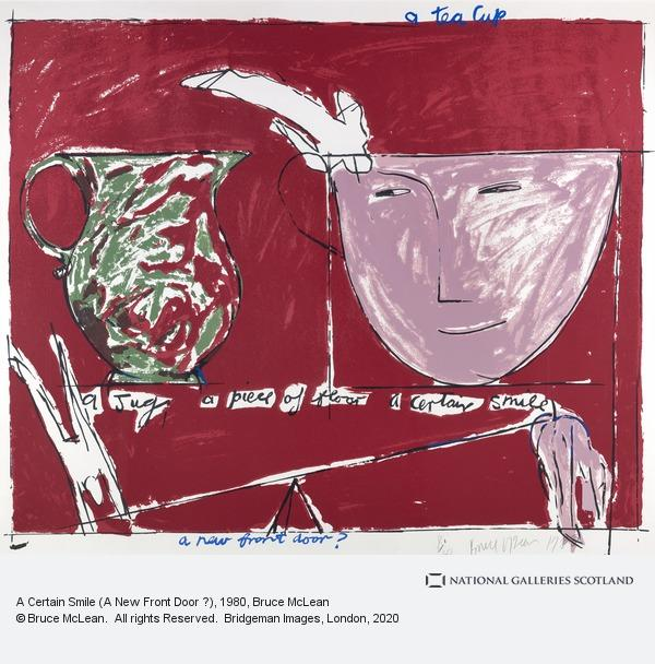 Bruce McLean, A Certain Smile (A New Front Door ?)