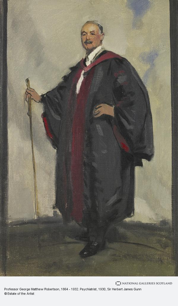 Sir Herbert James Gunn, Professor George Matthew Robertson, 1864 - 1932. Psychiatrist