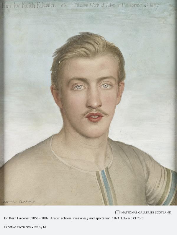 Edward Clifford, Ion Keith Falconer, 1856 - 1887. Arabic scholar, missionary and sportsman