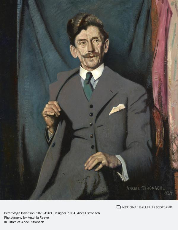 Ancell Stronach, Peter Wylie Davidson, 1870-1963. Designer