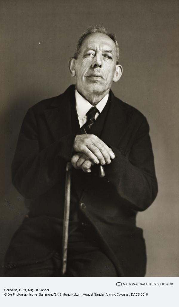 August Sander, Herbalist, 1929 (1929)