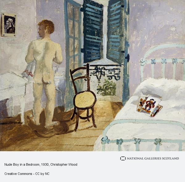 Christopher Wood, Nude Boy in a Bedroom