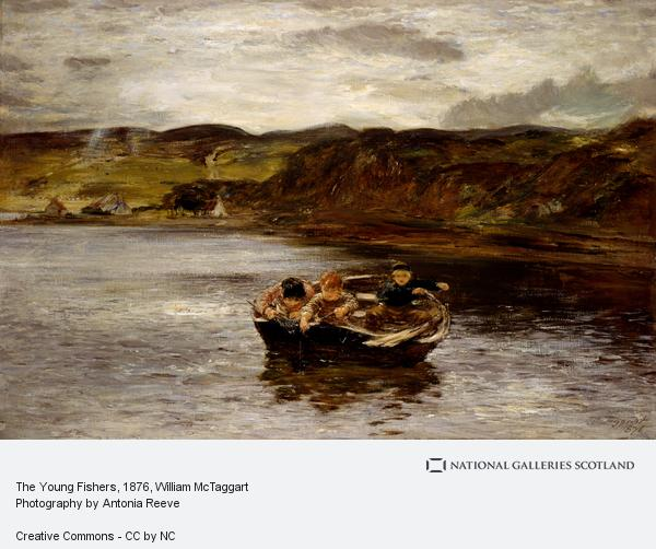 William McTaggart, The Young Fishers (Dated 1876)