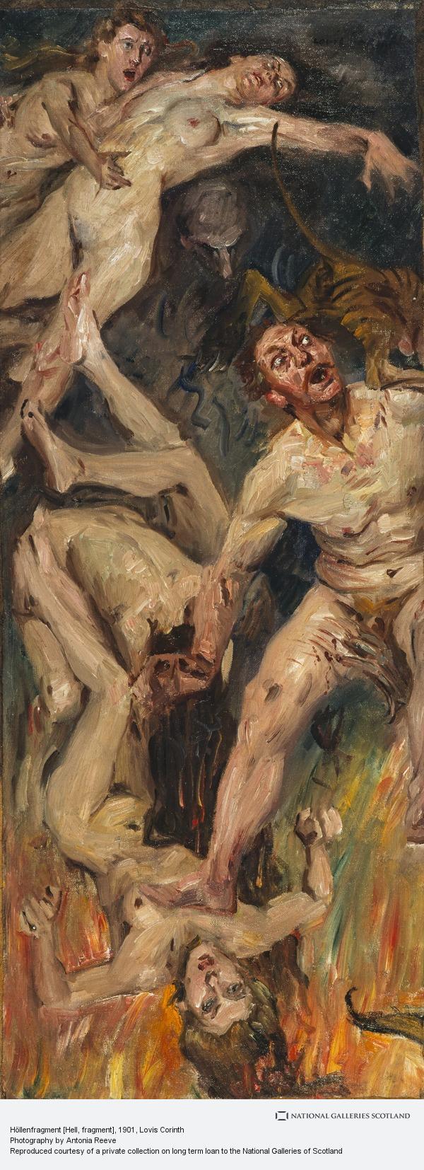 Lovis Corinth, Höllenfragment [Hell, fragment]