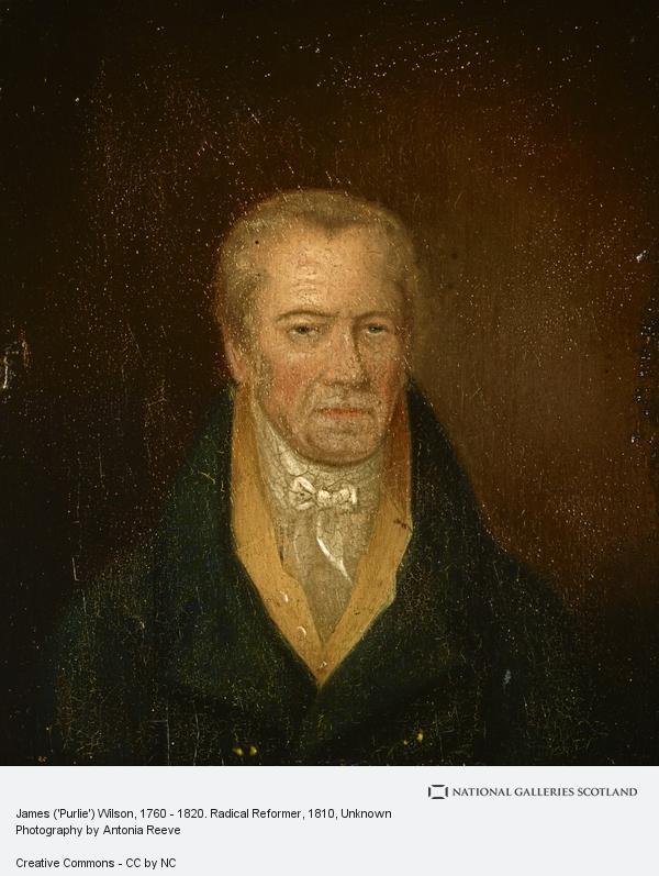 Unknown, James ('Purlie') Wilson, 1757 - 1820. Radical Reformer (About 1810)