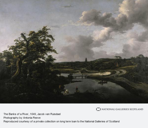 Jacob van Ruisdael, The Banks of a River