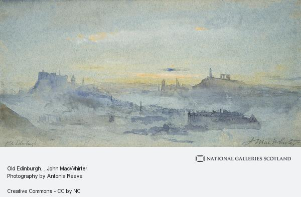 John MacWhirter, Old Edinburgh