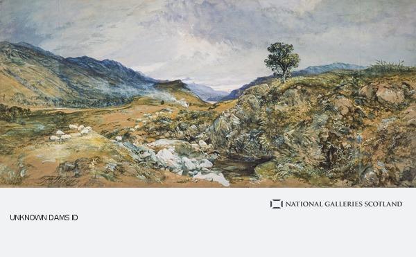 Sir George Harvey, Glenfalloch (Dated 1865)