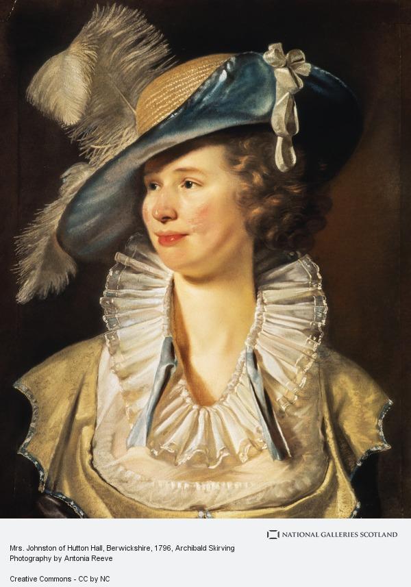 Archibald Skirving, Mrs. Johnston of Hutton Hall, Berwickshire