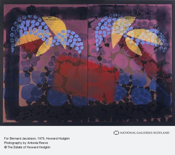 Howard Hodgkin, For Bernard Jacobson