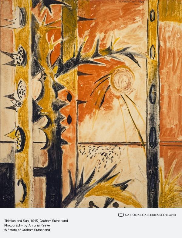 Graham Sutherland, Thistles and Sun