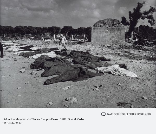 Don McCullin, After the Massacre of Sabra Camp in Beirut