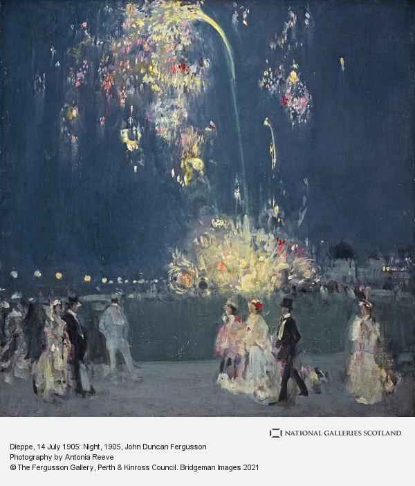 John Duncan Fergusson, Dieppe, 14 July 1905 : Night